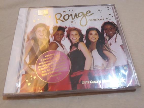 Cd Rouge Remixes Duplo Lacrado . Unico Lacrado
