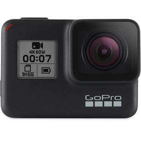 Câmera Gopro Hero 7 Black 12mp 4k Wi-fi Controle Por Voz
