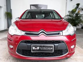 Citroën C3 1.6 Vti 16v Exclusive Flex Aut.13/13 Vermelho