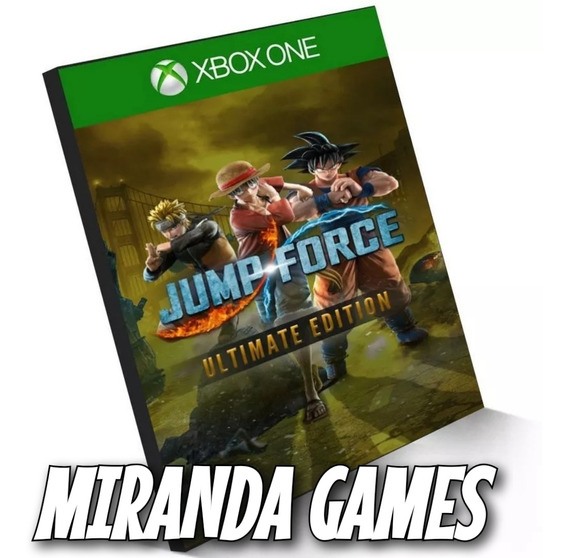 Jump Force Ultimate Edition Xbox One Mídia Digital