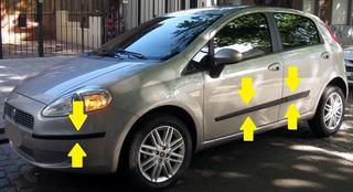 Fiat Punto Baguetas De Puertas + Protectores Paragolpes !!!!