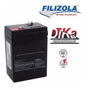 Bateria Filizola Balança Eletrônica Digital Ea15 / Cs15 Etc.