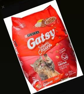 Gatarina Gatsy Por Sacos 17kg. Carne Y Pescado