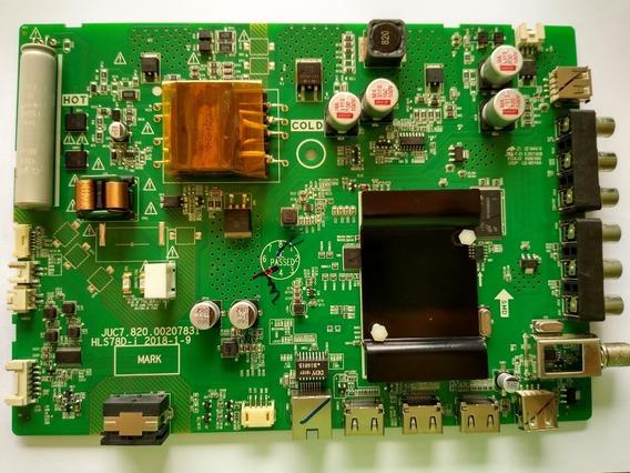 Placa Principal Tv Philco Ptv43e60sn-usado Com A Barra Flat Tv Philco