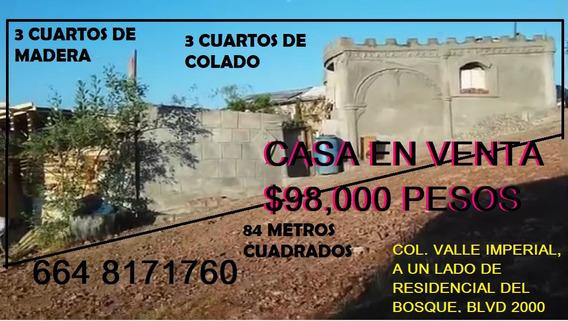 Casas En Venta En Tijuana Trato Directo En Metros Cubicos