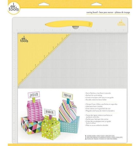 Tabla De Dobleces Ek Scoring Board Scrapbook Manualidades