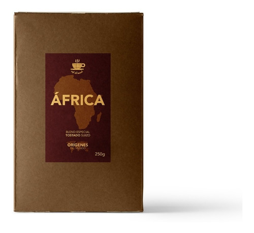 Imagen 1 de 6 de Café En Grano Blend África