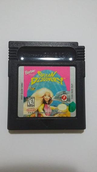 Barbie Ocean Discovery Game Boy Color Original