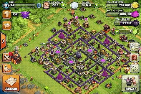 Th10, Tropas 6, Golem 4.