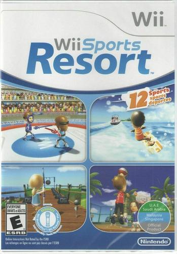 Wii Sports Resort En Perfectas Condiciones