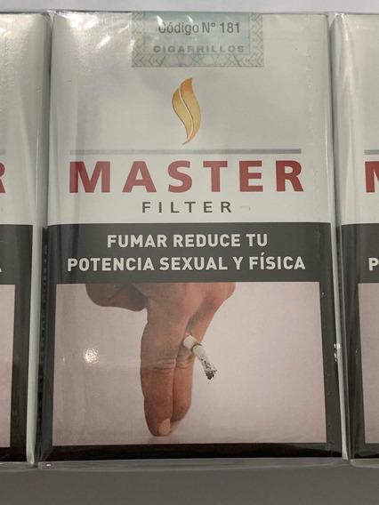 Cigarrillos Master Pack Por 10