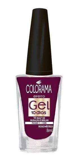 Esmalte Colorama Gel Roxo Místico 8ml