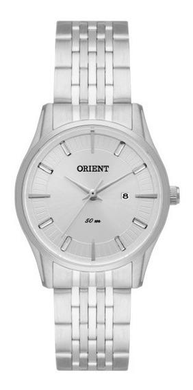 Relógio Orient Feminino Aço Fundo Prata 34524