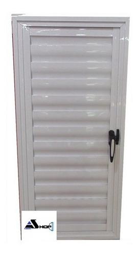 Imagen 1 de 6 de Postigon De Aluminio 70x110 Abrir 1 Hoja Blanco