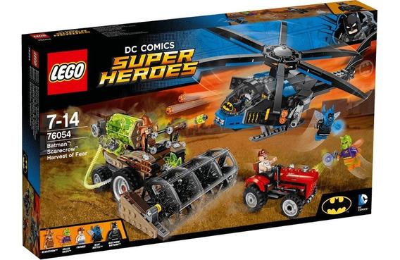 Brinquedo Lego Super Heroes Dc Batman Colheita Do Medo 76054