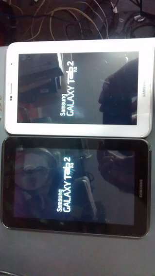 Tablet Galaxy Tab2 7 Gt-p3100 16gb 3g Wifi Usado Branco
