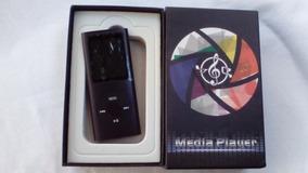 iPod Shuffle / Mp4 Player 8gb Caixa Cabo Usb Fone De Ouvido