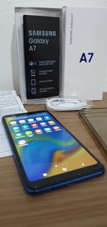 Celular Samsung A7 64gb / 4gb Ram - Tela 6 C/nota Fiscal