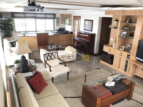 Apartamento Com 3 Dormitórios, 260 M² - Venda Por R$ 1.800.000 Ou Aluguel Por R$ 5.000/mês - Vila Medon - Americana/sp - Ap0705