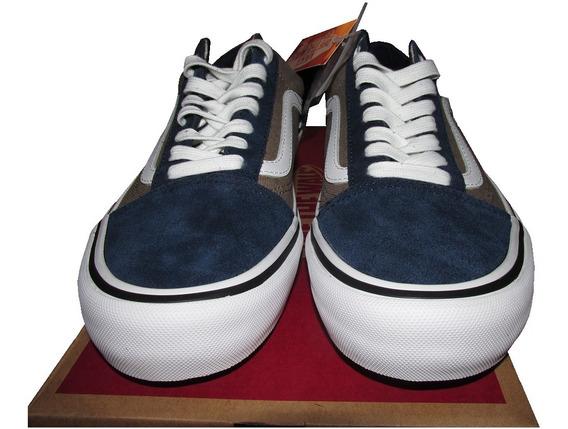 Zapatillas Nuevas Vans Ultra Cush Hd Pro 41 Azules Londres
