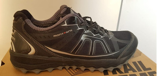 Zapatilla Montagne Running Trail Extreme Hombre Negra