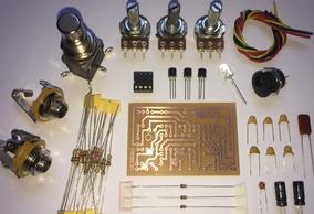 Tube Screamer - Kit De Montagem P/ Pedal Ts-9 / Ts-808