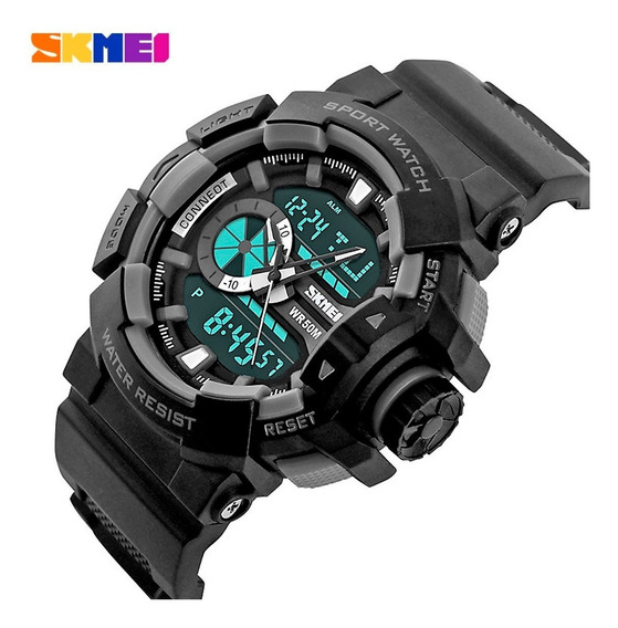 Relógio S-shock Camuflado Esporte Militar Digital Promoção