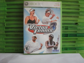 Virtua Tennis 3 Xbox 360 Mídia Física - Leia O Anúncio