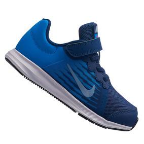 2abbbd806e4 Tênis Nike Downshifter Azul Infantil 922854403 Original