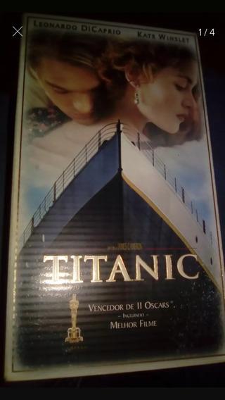 Fita Box Vhs Titanic Original Legendado