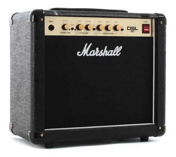 Marshall Dsl5c Valvular 5 Watts Amplificador Guitarra
