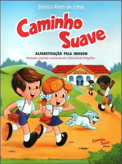 Kit Livros: Cartilha Caminho Suave/caligrafia Caminho Suave
