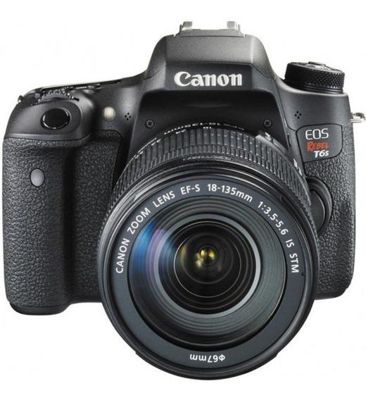 Câmera Canon T6s 18-135mm