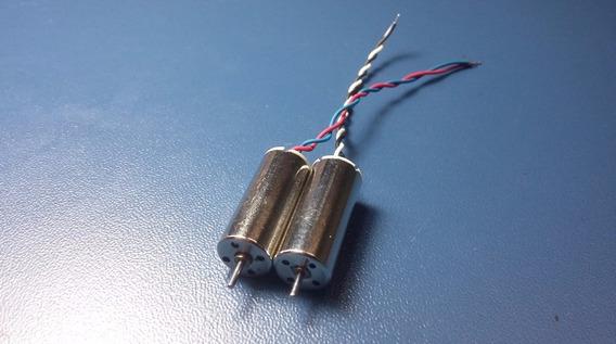 Kit Com 2 Motores Do Hubsan X6 H107c (o Par)