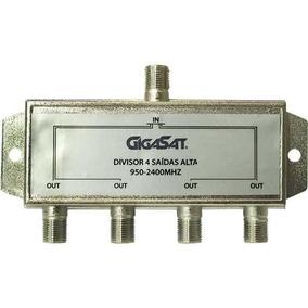 Divisor De Sinal Gigasat 4s Alta 950-2400mhz