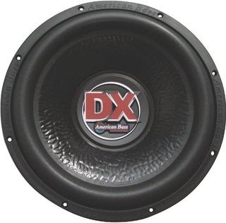 American Bass Dx124 12 600w 4 Ohm Car Aduio Subwoofer Sub 60