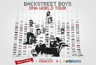 Entrada Backstreet Boys
