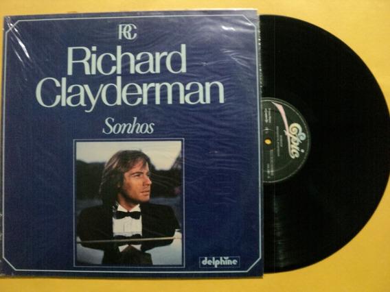 Lp Richard Clayderman- Sonhos- 1982- Zerado- Frete 15,00