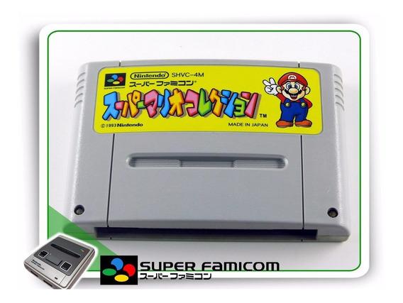 Mario Collection Original Snes Super Famicom Sfc