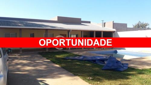 Chácara/casa Com Piscina, Churrasqueira E Quadra De Futebol, Em Terreno De 1250m² - Cosmópolis/sp - Ch00015 - 68211489