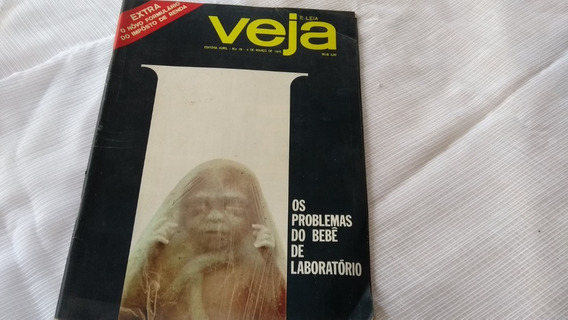Revista Veja Nº 78 Os Problemas Do Bebê De Laboratório 03/70