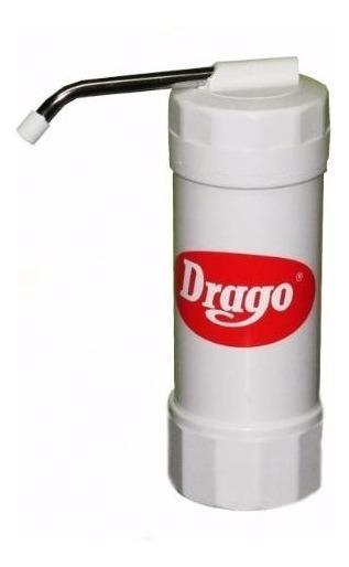 Purificador De Agua Drago Filtro Sobre Mesada Modelo Mp40 Aprobado Anmat Distribuidor Oficial Drago +