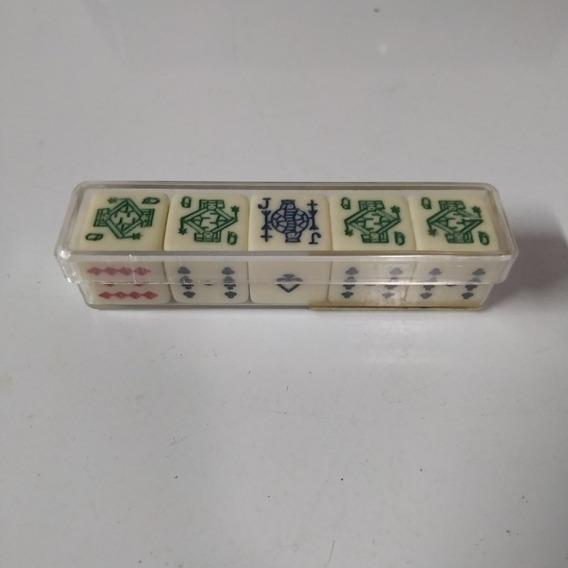 Set De Dados De Póker 5 Piezas