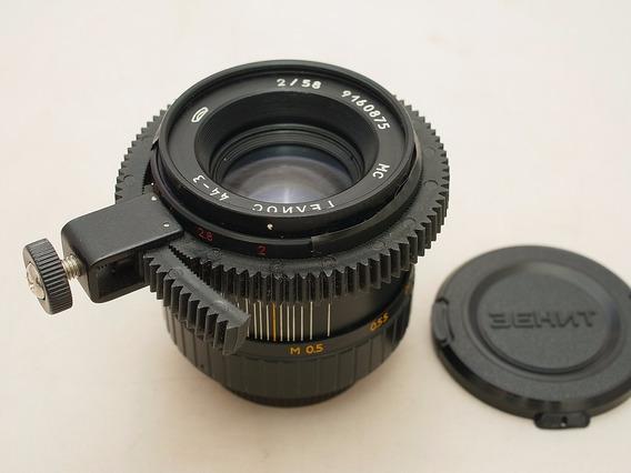 Baixou, Video Lente Helios 44-3 F2 58mm M42 Declick
