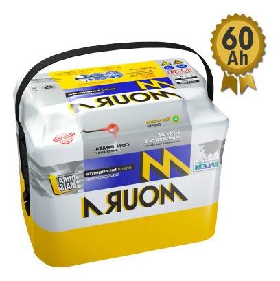Bateria 60ah Moura Garantia 18 Meses Com Troca