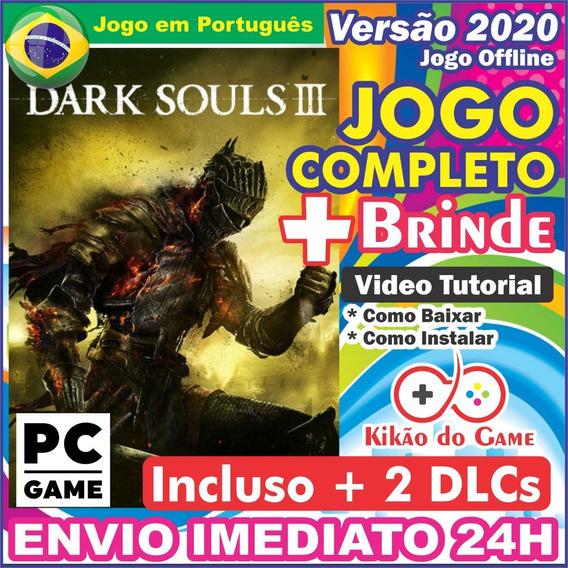 Dark Souls 3 + 2 Dlcs Pc Digital Br + Brinde