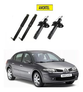 4 Amortecedor Dianteiro/traseiro Renault Megane 06 Até 12