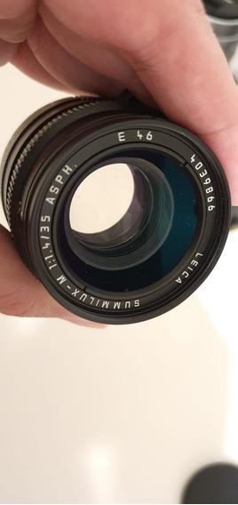 Leica 35mm Summilux M F/1.4 Asph Fuji 35