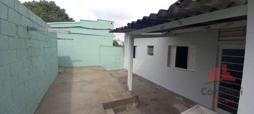 Imagem 1 de 12 de Casa Com 2 Dormitórios Para Alugar, 70 M² Por R$ 700,00/mês - Jardim São Domingos - Americana/sp - Ca3019