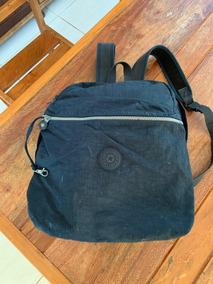 Mochila Klipinng Bag Azul Marinho Original Usada 2018